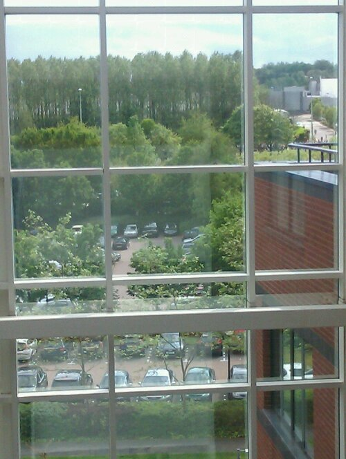 View from the 5th Floor - Windsor House, Telford