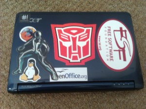My Acer Aspire netbook - an Acer ZG5